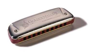 M542106 Golden Melody A-major Губная гармошка Hohner