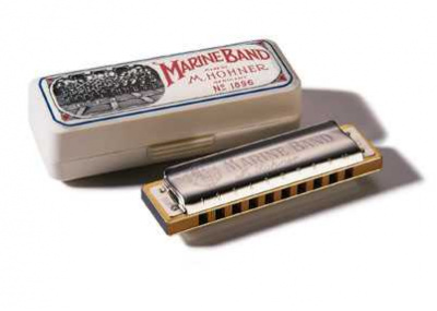 M1896466 Marine Band Classic F-natural-minor Губная гармошка Hohner
